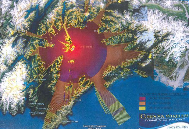 Cordova Wireless Communications coverage in PWS