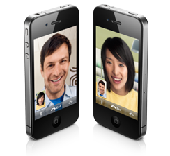 FaceTime video-calling for iPhone 4