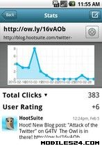 View stats on your social media posts via Hootsuite