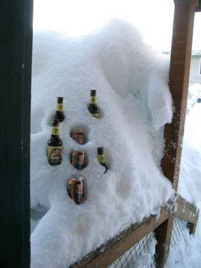 Michele's creative beer cooler