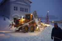 Our heroes, the plow guys that worked round the clock!